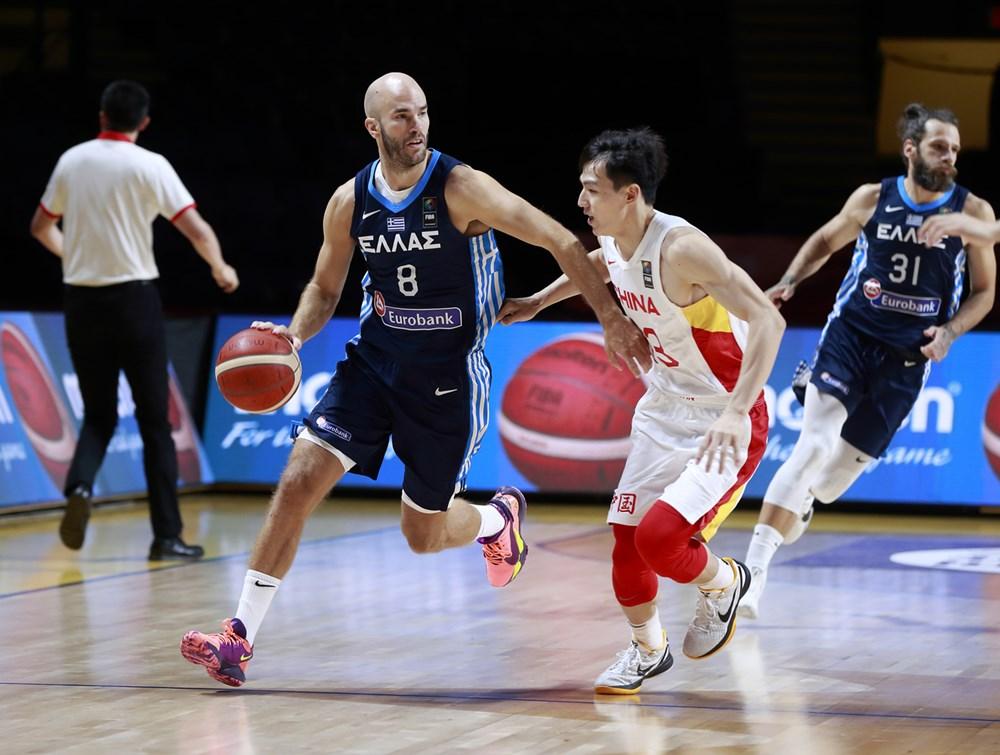 Ελλάδα-Κίνα 105-80