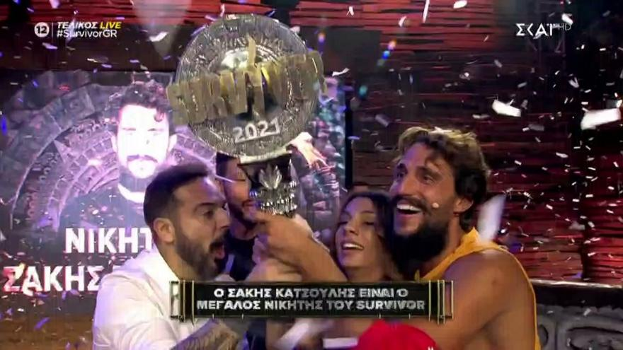 Survivor: Μεγάλος νικητής ο Σάκης Κατσούλης