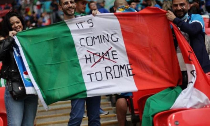 Χίλιοι Ιταλοί φίλαθλοι στον τελικό του Euro