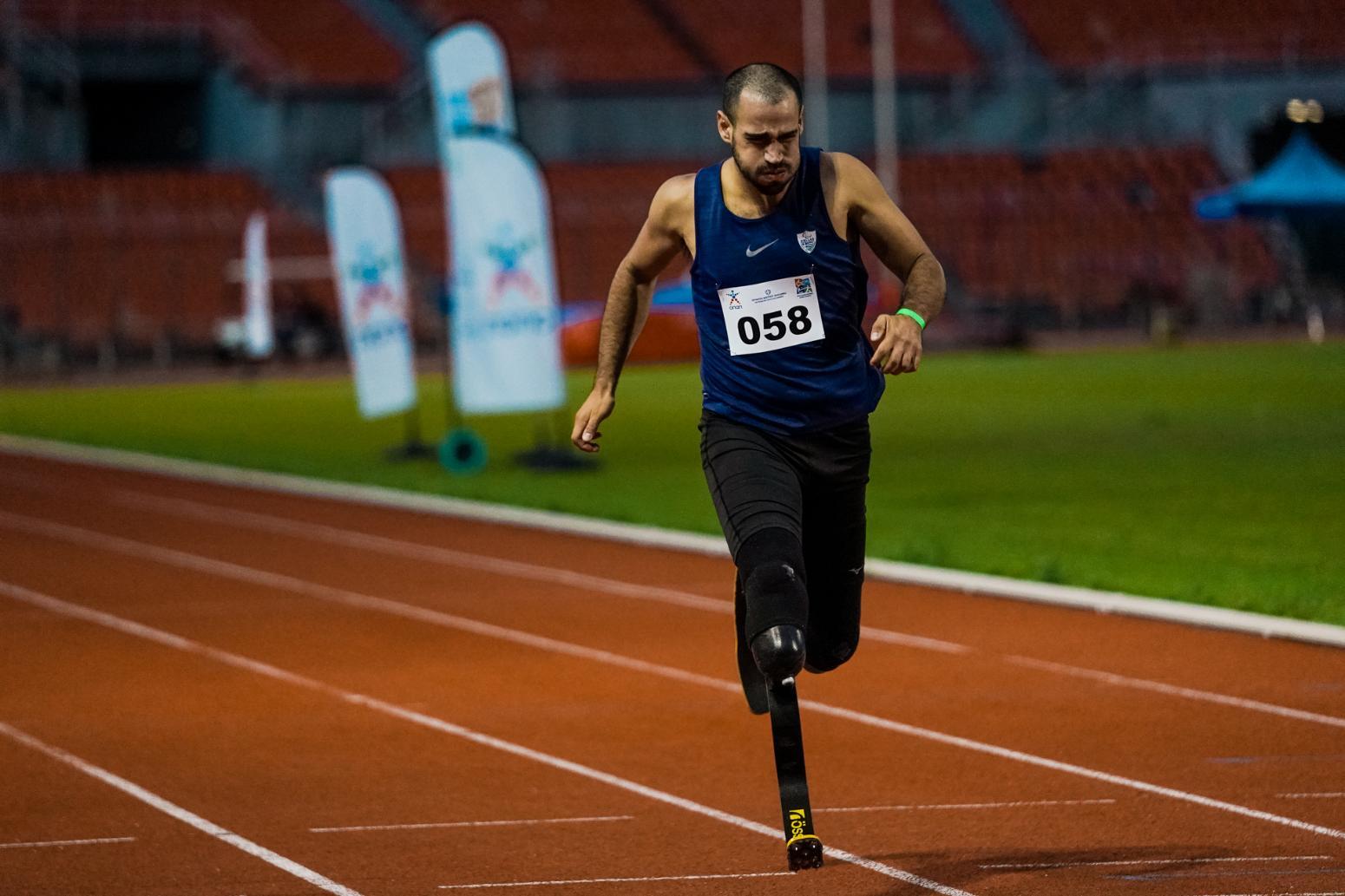 Παγκόσμιο ρεκόρ ο Αχιλλέας Σταματιάδης στα 200μ. T43