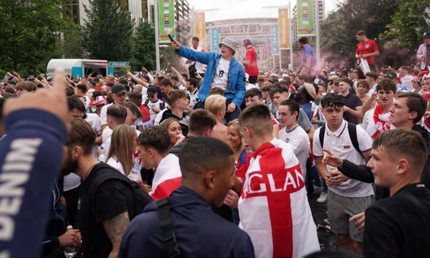 Euro 2020: Αγγλική τρέλα στο Λονδίνο για τον τελικό