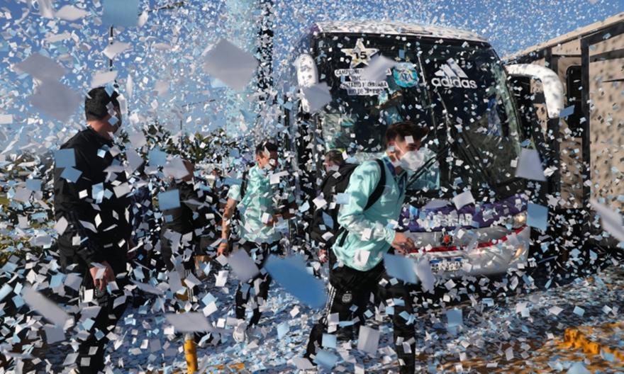 Copa America: Χαμός στην υποδοχή της Αργεντινής