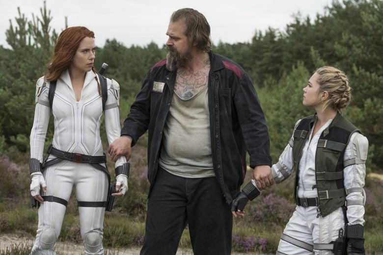 Σάρωσε το Black Widow σε κινηματογράφους και streaming