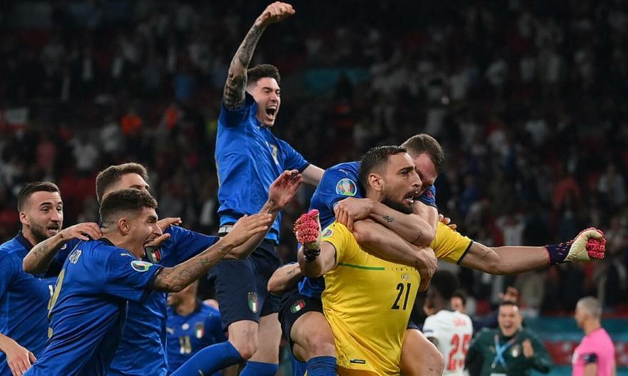 Ιταλία-Αγγλία: Τα highlights του τελικού