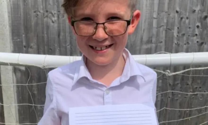 Ράσφορντ: Το συγκινητικό γράμμα από 9χρονο