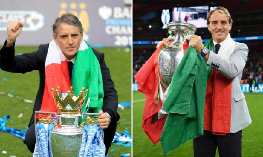 Μαντσίνι: Ο πρώτος προπονητής με Premier League και Euro