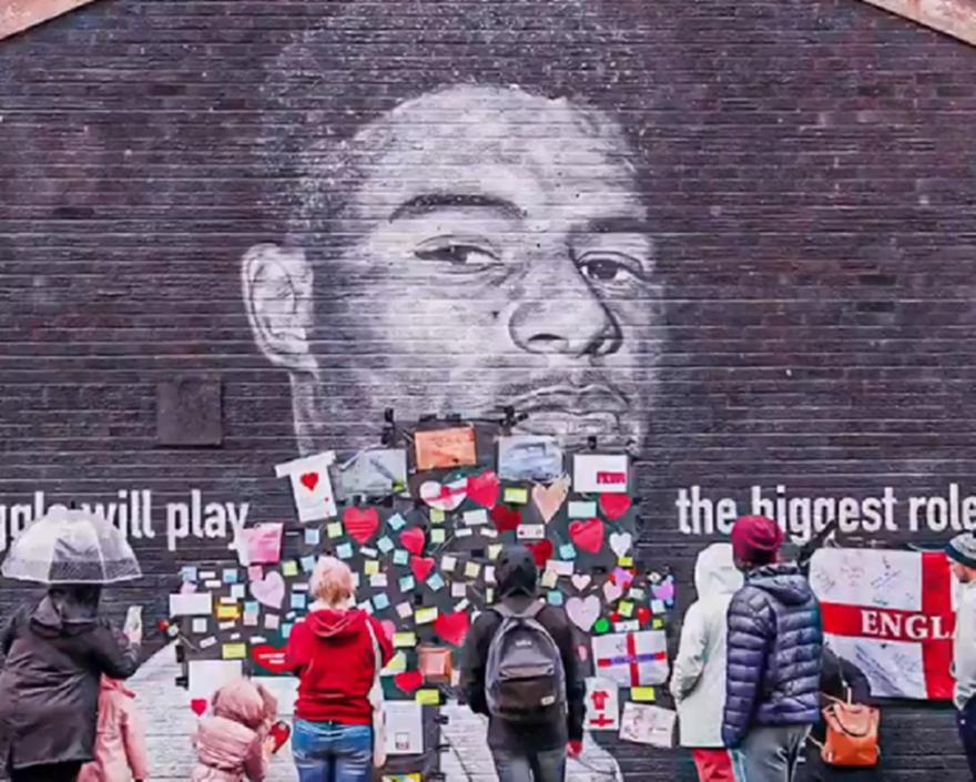 Αγγλία: Αποκαταστάθηκε το γκράφιτι του Ράσφορντ