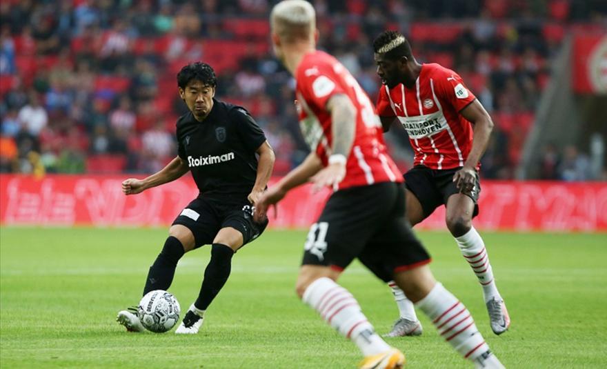PSV Αϊντχόφεν-ΠΑΟΚ 1-0