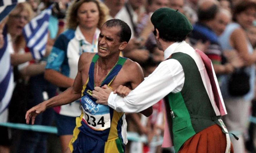 Η «μαύρη» στιγμή των Ολυμπιακών Αγώνων του 2004 και το μεγαλείο ψυχής του Ντε Λίμα!