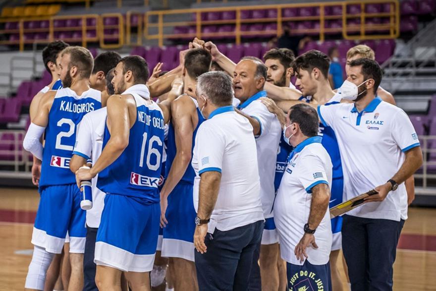 Νέων Ανδρών: Ελλάδα-Ουκρανία 88-49