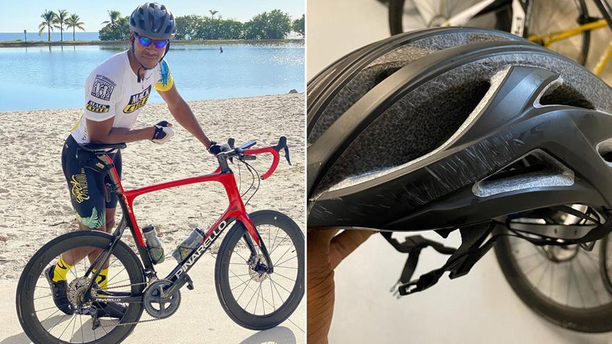Ρέι Άλεν: Γλίτωσε από σοβαρό ατύχημα με το ποδήλατο