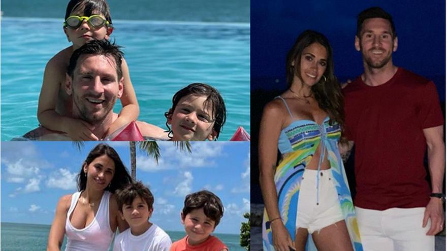 Mέσι: Οι διακοπές με την οικογένειά του στο Μαϊάμι