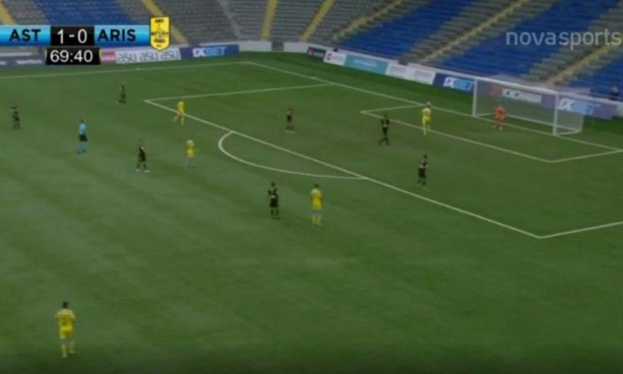 Αστάνα-Άρης: To 2-0