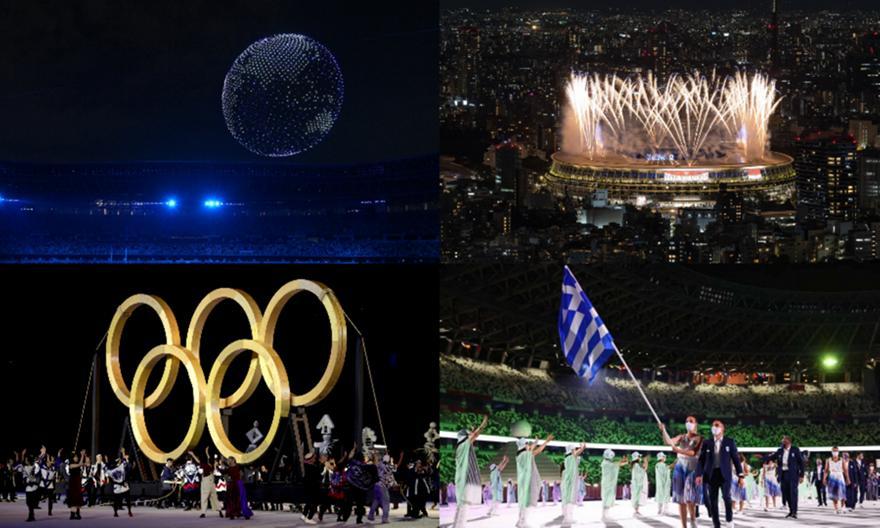 Τόκιο: Η συγκινητική τελετή έναρξης των Ολυμπιακών Αγώνων