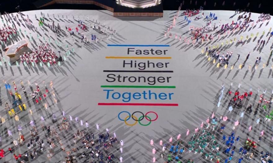 Τελετή έναρξης: Το μήνυμα των Ολυμπιακών Αγώνων