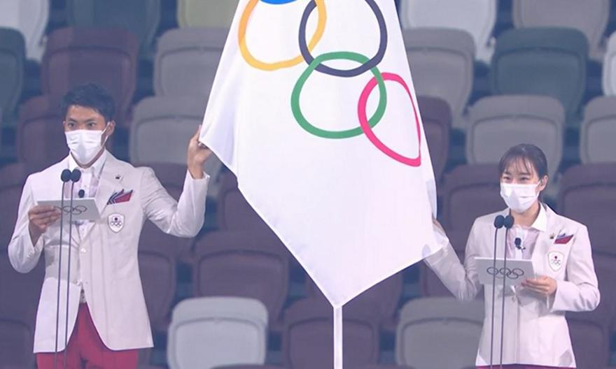 Τελετή Έναρξης: Ο Ολυμπιακός όρκος