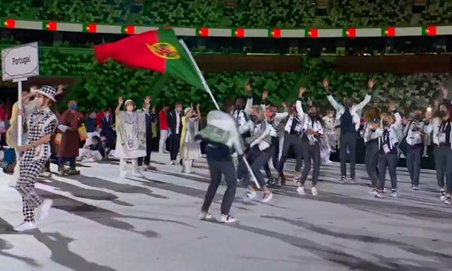 Ολυμπιακοί Αγώνες: Με πολύ κέφι η είσοδος της Πορτογαλίας