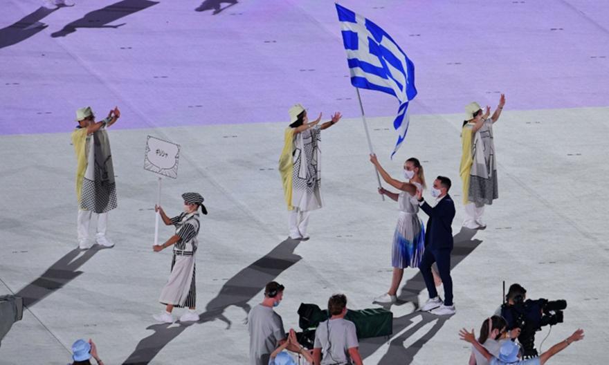 Πετρούνιας: Νιώθω υπερήφανος, να φανώ αντάξιος της σημαίας