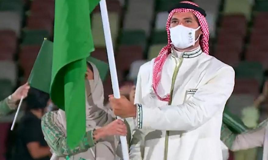 Τελετής Έναρξης: Η είσοδος της Σαουδικής Αραβίας
