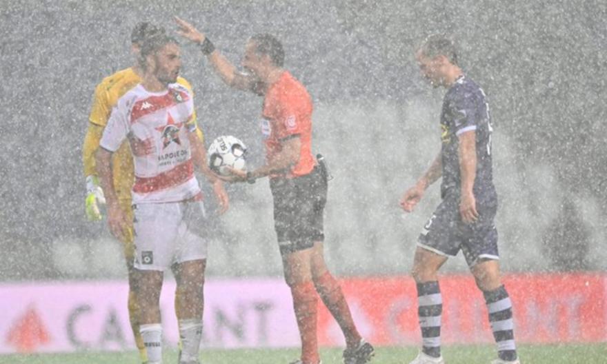 Μπέερχοστ-Σερκλ Μπριζ: Διεκόπη το ματς λόγω κακοκαιρίας