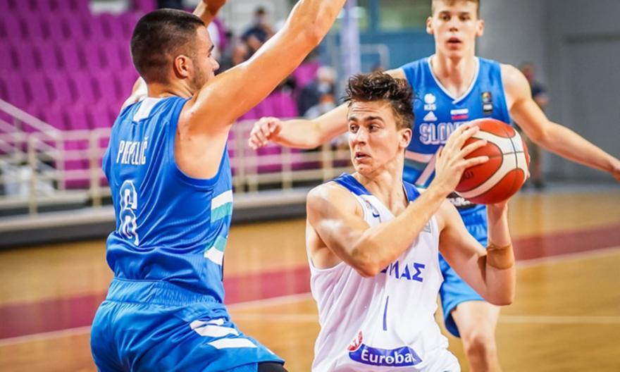 Ελλάδα U20-Σλοβενία U20: 63-84