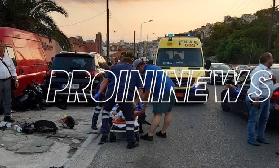 Τρεις νεκροί σε τροχαίο στην Καβάλα