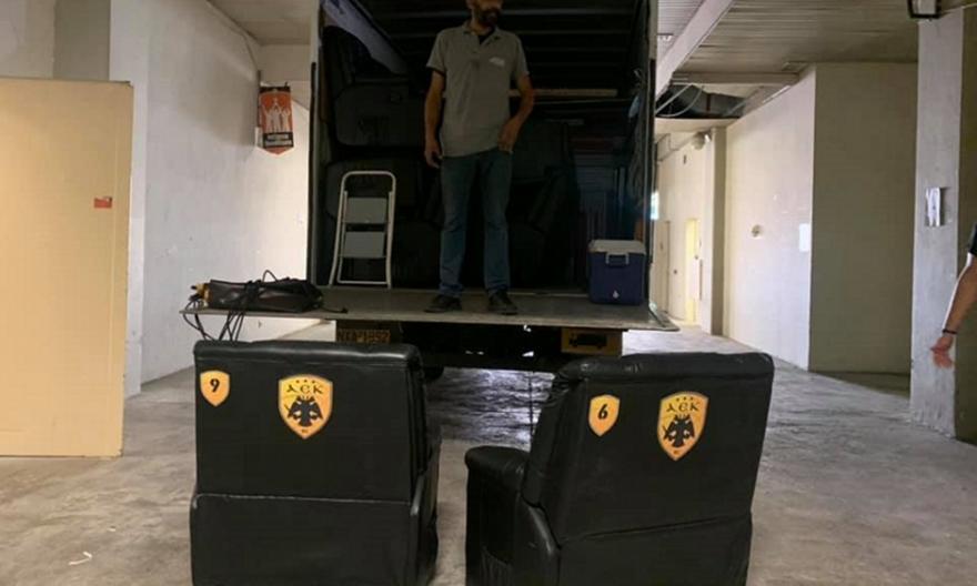 ΑΕΚ: Προχωρά η μετακόμιση από το ΟΑΚΑ στα Λιόσια