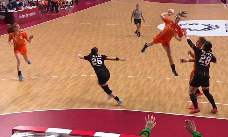 Τα θεαματικά plays στο Handball Γυναικών