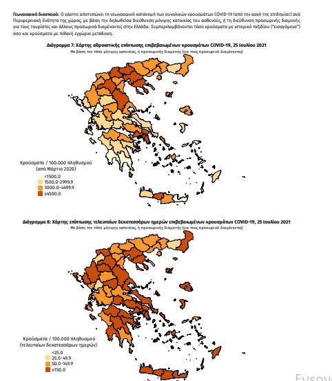 Κορωνοϊός-Ελλάδα: 1.553 νέα κρούσματα - 8 νεκροί
