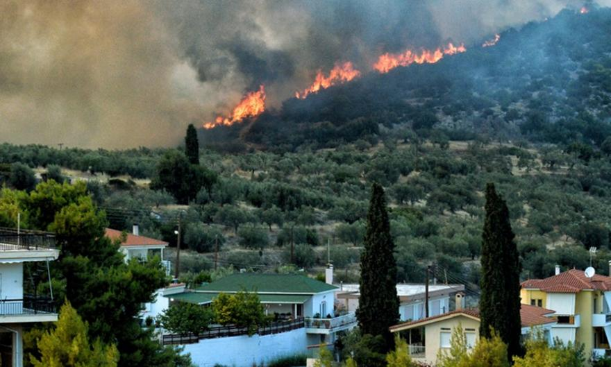 Νάυπλιο-Κόρινθος: Καλή εικόνα στις πυρκαγιές
