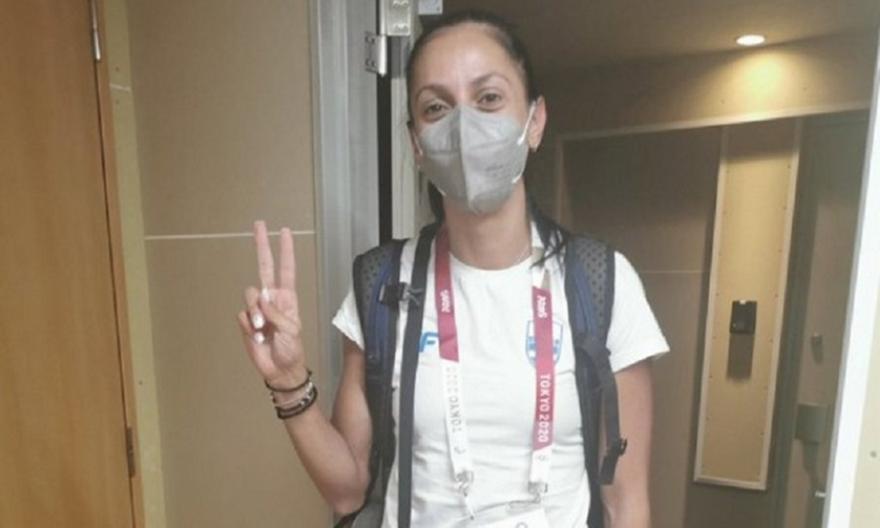 Πεσιρίδου: Πρώτη αθλήτρια του στίβου στο Ολυμπιακό Χωριό