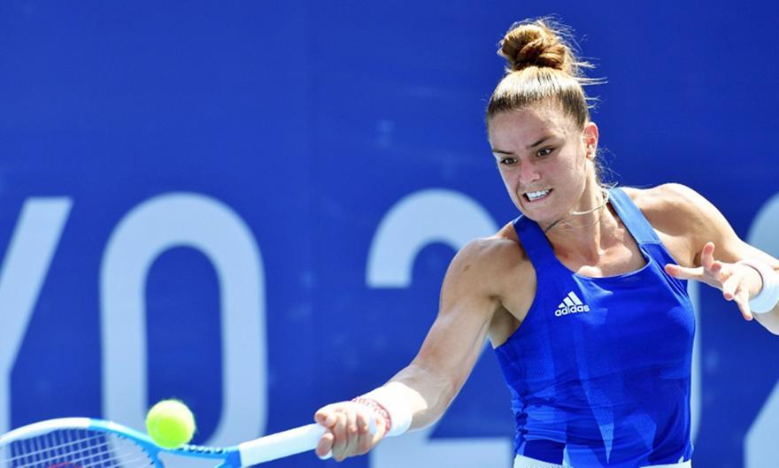 Μαρία Σάκκαρη-Νίνα Στογιάνοβιτς: 2-0 σετ