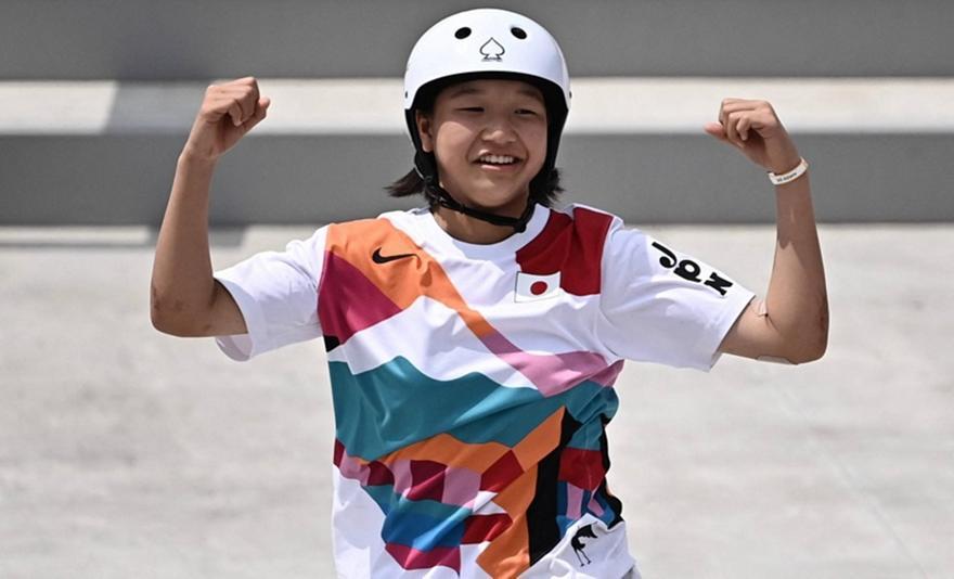 Skateboard: Η 13χρονη Γιαπωνέζα Νισίγια πήρε το χρυσό