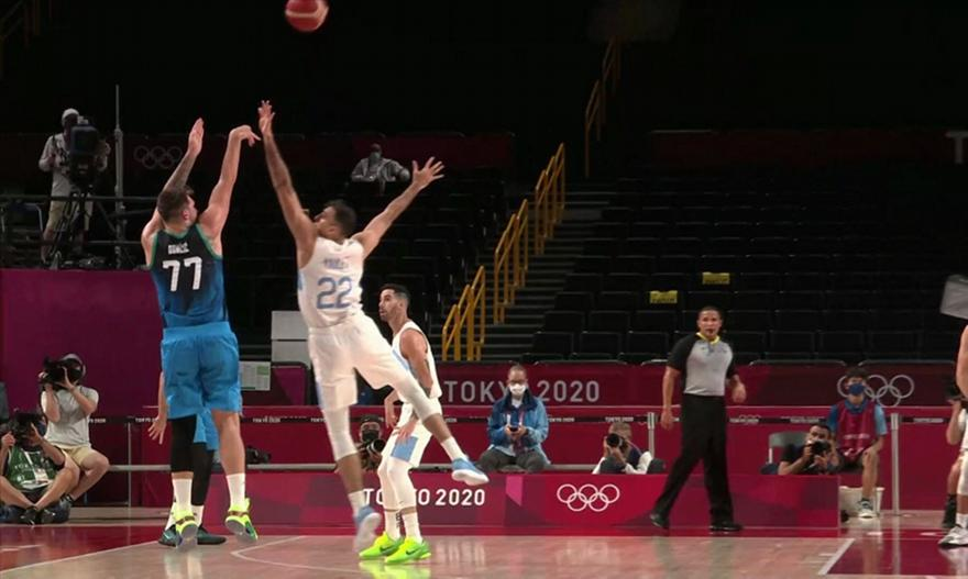 Σλοβενία-Αργεντινή: 118-100