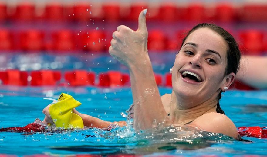 ΜακΚίοουν: Χρυσό και Ολυμπιακό ρεκόρ στα 100μ. ύπτιο