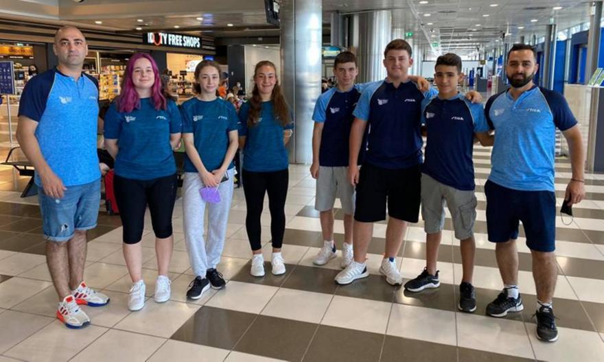Ευρωπαϊκό Πρωτάθλημα πινγκ πονγκ νέων: Ήττες την πρώτη μέρα