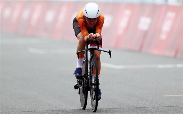 Χρυσή η Ολλανδία στην ποδηλασία