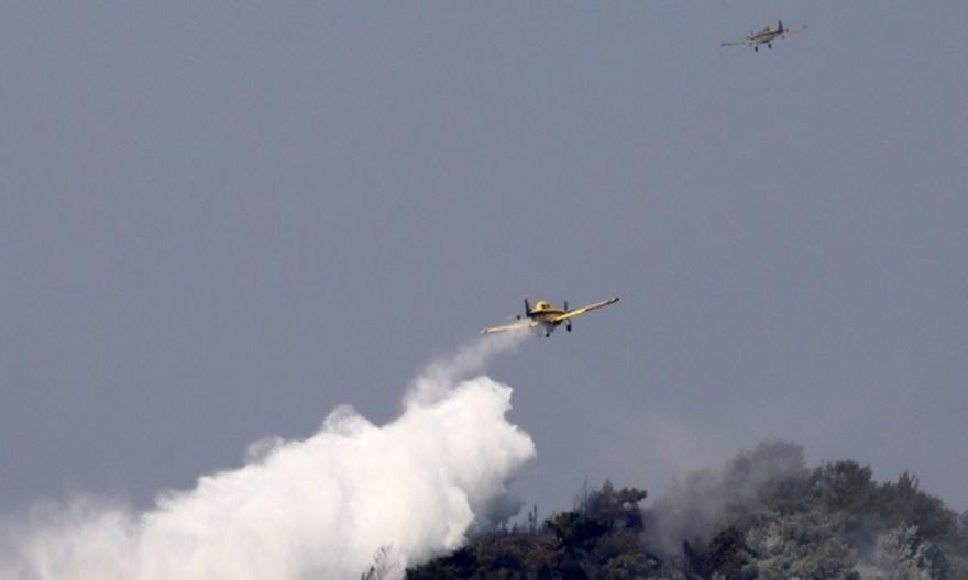 Πάτρα: Σε ύφεση η φωτιά στην περιοχή Δροσιά της Αχαΐας