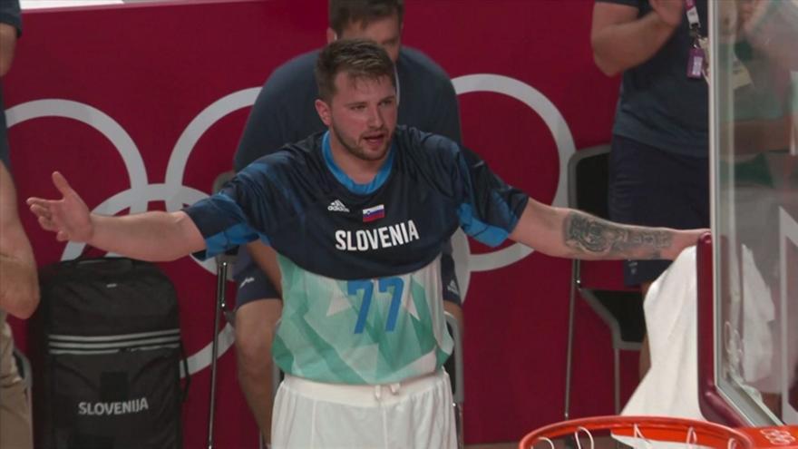 Ντόντσιτς: Έξαλλος για μη καταλογισμό φάουλ στη Σλοβενία