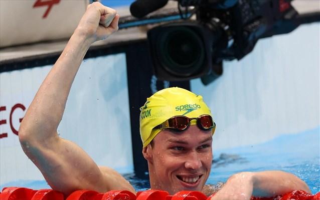 Χρυσός με Ολυμπιακό ρεκόρ ο Κουκ στα 200μ. πρόσθιο