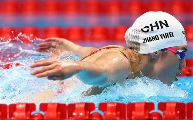 «Χρυσή» με Ολυμπιακό ρεκόρ η Ζανγκ στα 200μ πεταλούδα
