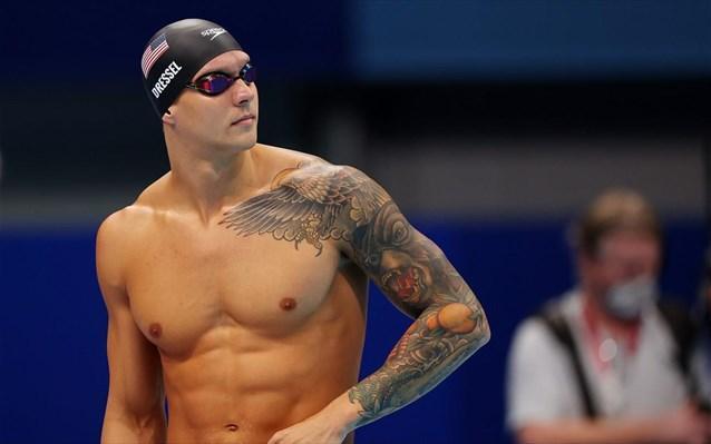Χρυσός ο Ντρέσελ στα 100μ ελεύθερο κολύμβησης