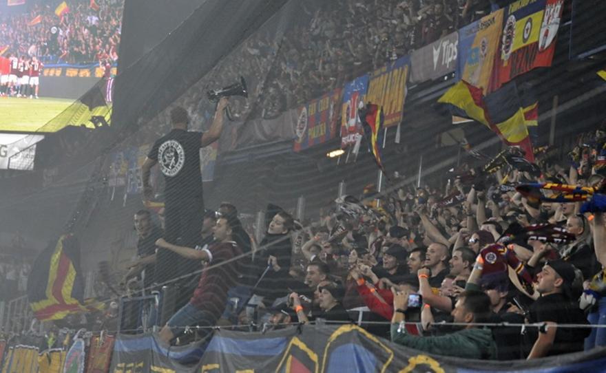 Σπάρτα Πράγας:Παίκτες, οπαδοί έφτιαξαν εκρηκτική ατμόσφαιρα