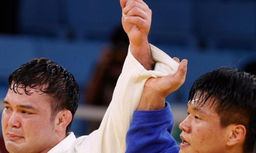 Τζούντο: Το χρυσό ο Ιάπωνας Βολφ στα 100κ.