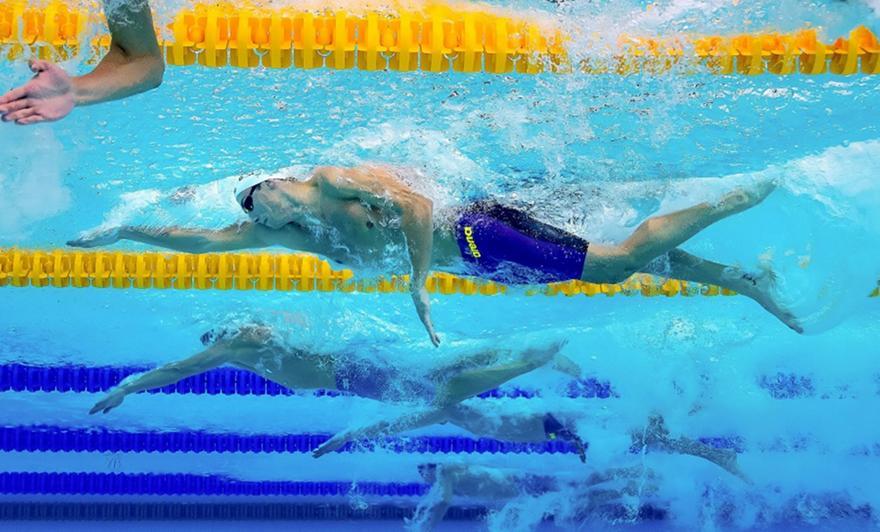 Κολύμβηση: Στα ημιτελικά των 50μ. ελεύθερο ο Γκολομέεβ