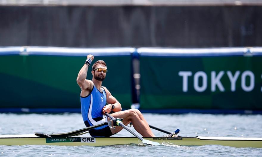 Ντούσκος: Χρυσός Ολυμπιονίκης στο σκιφ!