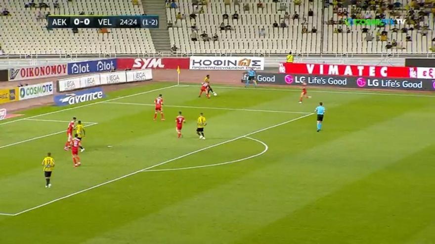 ΑΕΚ-Βελέζ: Τα highlights του ματς