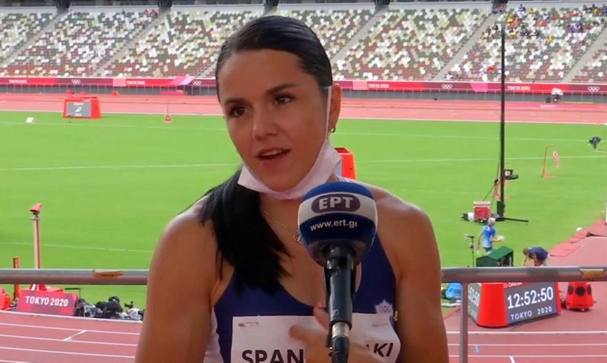Σπανουδάκη: «Είμαι πολύ χαρούμενη – Καλύτερα στα 200μ.»