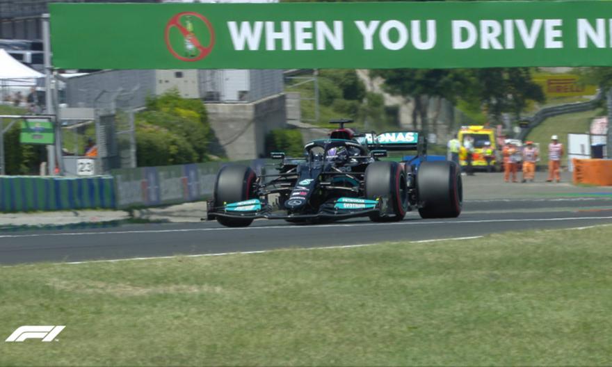 F1 Ουγγαρία: Pole potision για τον Χάμιλτον
