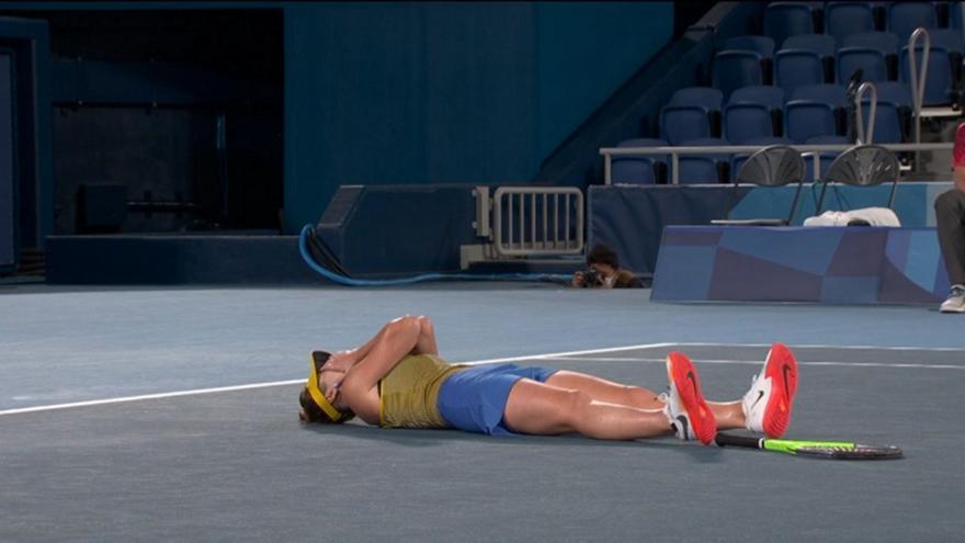 Τένις: Πήρε το χάλκινο με ανατροπή η Σβιτόλινα